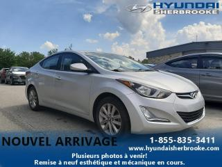 Used 2016 Hyundai Elantra SPORT+TOIT+CAMERA+BANCS CHAUFF+MAGS for sale in Sherbrooke, QC