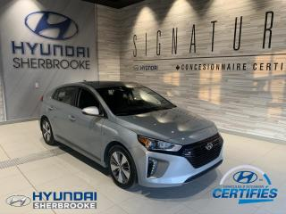 Used 2019 Hyundai IONIQ PLUG-IN+CAMERA+PUSH START+BANCS CHAUFF for sale in Sherbrooke, QC