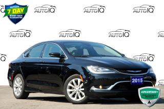 Used 2015 Chrysler 200 LEATHER | SUNROOF | AC | NAVI | for sale in Kitchener, ON