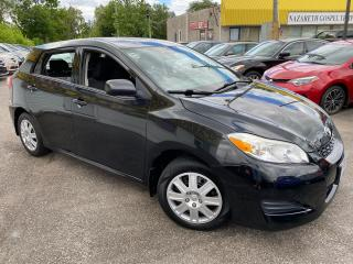 Used 2013 Toyota Matrix AUTO/ BLUETOOTH/ PWR GROUP/ TILT/ COLD AC & MORE! for sale in Scarborough, ON