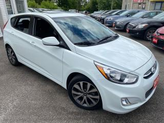 Used 2015 Hyundai Accent SE/ AUTO/ SUNROOF/ REVERSE CAM/ ALLOYS/ LIKE NEW! for sale in Scarborough, ON
