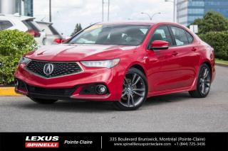 Used 2018 Acura TLX **Elite A-Spec** *NAVIGATION*CAMERA 360*PREVENTION CHANGEMENT DE VOIE*VOLANT CHAUFFANT*TOIT*CUIR*2 SETS DE PNEUS* for sale in Montréal, QC