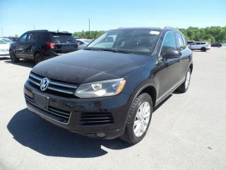 Used 2011 Volkswagen Touareg Comfortline for sale in Barrie, ON