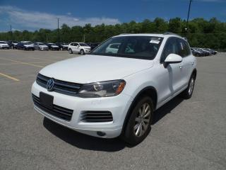 Used 2012 Volkswagen Touareg Comfortline for sale in Barrie, ON