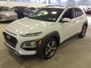 Used 2019 Hyundai KONA AWD Ultimate Cuir Toit for sale in Longueuil, QC