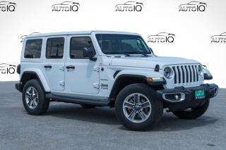 Used 2018 Jeep Wrangler Unlimited Sahara for sale in Barrie, ON