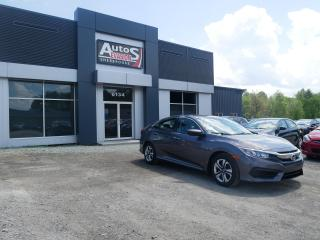Used 2017 Honda Civic LX + BAS KILO + INSPECTÉ for sale in Sherbrooke, QC