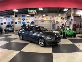 Used 2016 BMW 3 Series 320I X DRIVE SPORT PKG AUT0 P/SUNROOF BACKUP CAMERA 106K for sale in North York, ON