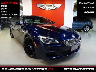 Used 2016 BMW 6 Series 650XI MSPORT | CERTIFIED | FINANCE @ 4.65% for sale in Oakville, ON