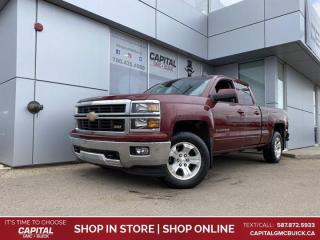 Used 2015 Chevrolet Silverado 1500 LT TRUE NORTH BRAND NEW TIRES HEATED SEATS BOX LINER for sale in Edmonton, AB
