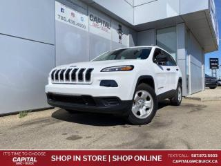 Used 2017 Jeep Cherokee SPORT 4WD for sale in Edmonton, AB