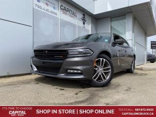 Used 2019 Dodge Charger SXT AWD HEATED & COOLED LEATHER HEATED STEERING for sale in Edmonton, AB