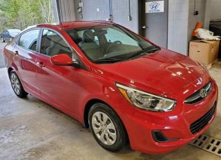 Used 2017 Hyundai Accent HEATED SEATS/CC/BT /AC for sale in Port Hawkesbury, NS