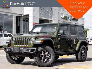 New 2020 Jeep Wrangler Unlimited Rubicon 4x4 Skyroof Navigation Alpine Sound Adaptive Cruise  Blind Spot for sale in Thornhill, ON