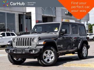 New 2020 Jeep Wrangler Unlimited Sport S 4x4 Backup Camera Heated Seats Heated Wheel SiriusMX Ready for sale in Thornhill, ON