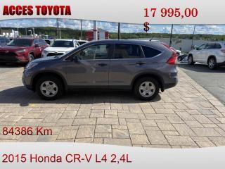 Used 2015 Honda CR-V LX AWD for sale in Rouyn-Noranda, QC