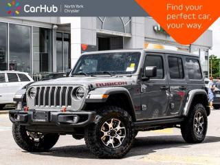 New 2020 Jeep Wrangler Unlimited Rubicon 4x4 Diesel Skyroof Alpine Sound Navigation Adaptive Cruise for sale in Thornhill, ON