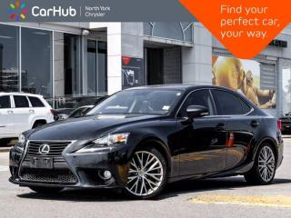 Used 2014 Lexus IS 250 AWD Sunroof Navigation Backup Camera Blind Spot Memory Seats for sale in Thornhill, ON