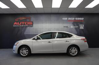 Used 2015 Nissan Sentra 1.8 SV 6 VITESSES MAGS CAMERA BLUETOOTH 60 415 KM for sale in Lévis, QC