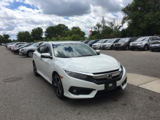 Used 2017 Honda Civic Touring . Leather! GPS. Rear camera. Sunroof for sale in London, ON