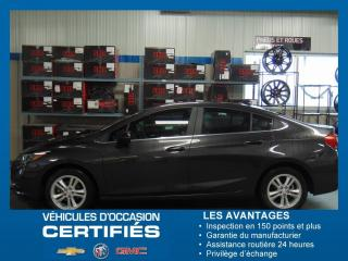 Used 2017 Chevrolet Cruze LT for sale in Amos, QC