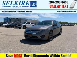 Used 2011 Ford Fusion SEL AWD  - Bluetooth -  Heated Seats for sale in Selkirk, MB