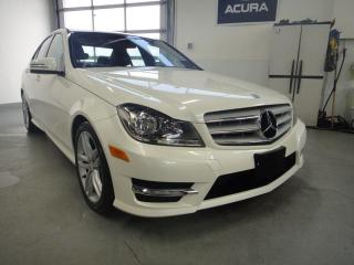 Used 2012 Mercedes-Benz C-Class NO ACCIDENT,AWD,LEATHER,ROOF for sale in North York, ON