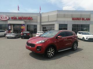 Used 2017 Kia Sportage SX TURBO **GPS CUIR TOIT OUVRANT PANO** for sale in Mcmasterville, QC