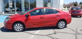 Used 2016 Toyota Corolla LE for sale in New Liskeard, ON