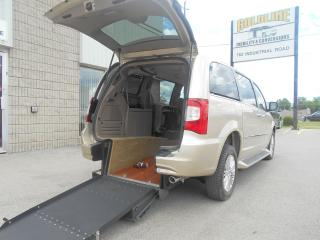 Used 2015 Chrysler Town & Country Limited-Wheelchair Accessible Rear Entry-Manual for sale in London, ON