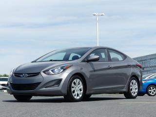 Used 2014 Hyundai Elantra GL JAMAIS ACCIDENTE!!! for sale in St-Georges, QC