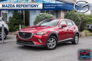 Used 2016 Mazda CX-3 CX-3 GS FEMME PROPRI TOIT-SIÈGES CH. GAR.PROLONGÉ for sale in Repentigny, QC