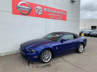 Used 2014 Ford Mustang V6 Premium 2dr RWD Convertible for sale in Edmonton, AB