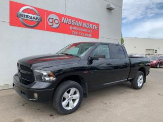 Used 2018 RAM 1500 BIG HORN BLACK PACKAGE / ECO DIESELBig Horn 4x4 Crew Cab 149.0 in. WB for sale in Edmonton, AB