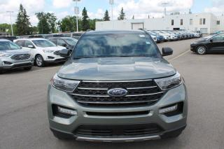 New 2020 Ford Explorer XLT 202A | 2.3L Ecoboost 4WD | Lane Keeping System | Pre-Collission System | Heated Steering Wheel | Heated Seats | Twin Panel Moonroof | Trailer Tow PKG for sale in Edmonton, AB
