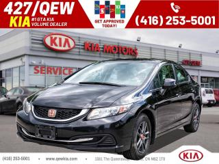 Used 2013 Honda Civic LX for sale in Etobicoke, ON