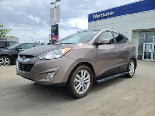 Used 2012 Hyundai Tucson LTD NAV/LEATHER/PANOROOF/HEATEDSEATS/BACKUPCAM for sale in Edmonton, AB