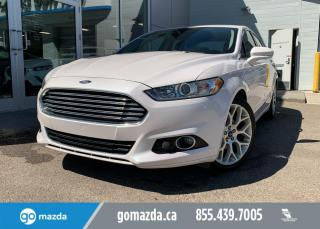Used 2013 Ford Fusion TITANIUM - AWD, NAV SUNROOF REMOTE START AND MUCH MORE! for sale in Edmonton, AB