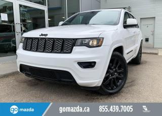 Used 2017 Jeep Grand Cherokee ALTITUDE 4WD NAV SUNROOF FANTASTIC SHAPE for sale in Edmonton, AB