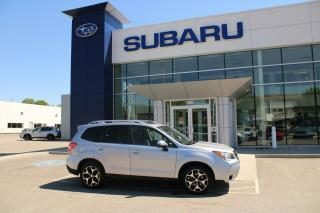 Used 2016 Subaru Forester LIMITED XT w EyeSight for sale in North Bay, ON