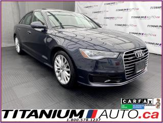 Used 2016 Audi A6 Technik+Quattro+Surround Camera+GPS+Cooled Leather for sale in London, ON