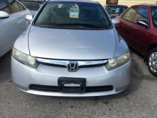 Used 2008 Honda Civic LX-SR for sale in Scarborough, ON