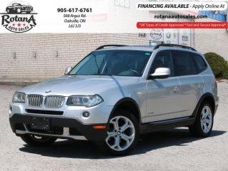 Used 2010 BMW X3 AWD 4dr 30i-Leather_Panoramic Roof_Warranty for sale in Oakville, ON