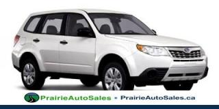 Used 2011 Subaru Forester X Convenience for sale in Moose Jaw, SK