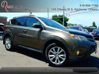 Used 2014 Toyota RAV4 AWD Limited.Navigation.Camera.Leather.Moonroof for sale in Kitchener, ON