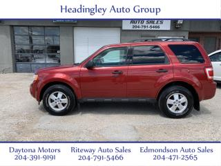 Used 2012 Ford Escape XLT for sale in Headingley, MB