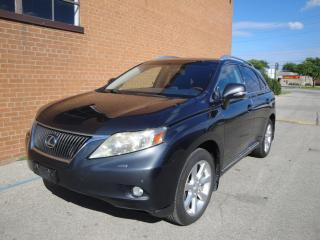 Used 2010 Lexus RX 350 NAVI/DVD/LEATHER/SUNROOF/HEADS UP DISPLY for sale in Oakville, ON