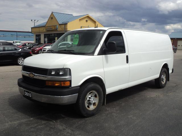 2015 Chevrolet Express 2500 LS 6.0L Extended Cargo Van