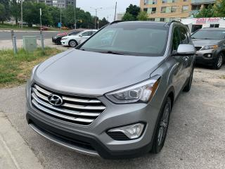 Used 2016 Hyundai Santa Fe XL Limited /Navigation /Backup /Leather /7Passenger for sale in Toronto, ON