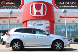 Used 2015 Volvo XC60 T6 Premier Plus-AWD-TURBO-HEATED LEATHER SEATS for sale in Sudbury, ON